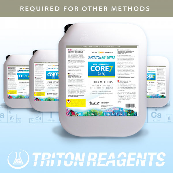 CORE7 Reef Supplements 4x5l