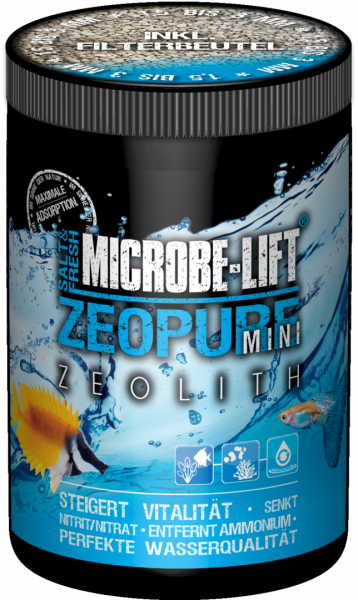 Zeopure Mini (Zeolith) 500ml / 375g